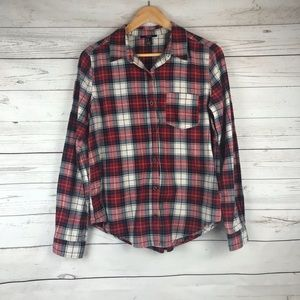 Forever 21 Plaid Flannel Size M